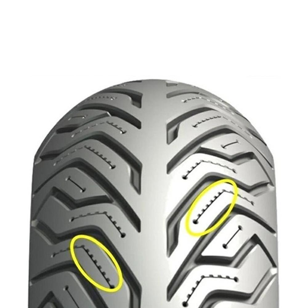 Pneu Dafra Cityclass 200i 120/80-16 60s Tubeless City Grip 2 Michelin
