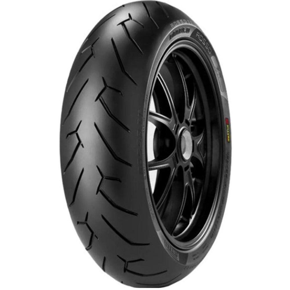 Pneu Xj6 Cb 500 F Mais Largo 170/60r17 Zr 72w Tl Diablo Rosso II Pirelli