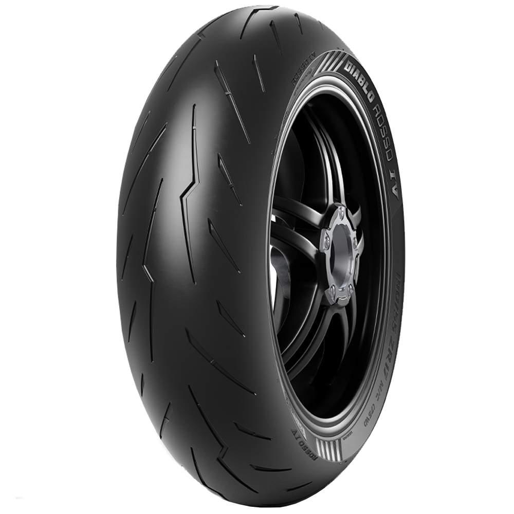 Pneu Panigale 1299 200/55r17 Zr 78w Tl Diablo Rosso 4 Pirelli