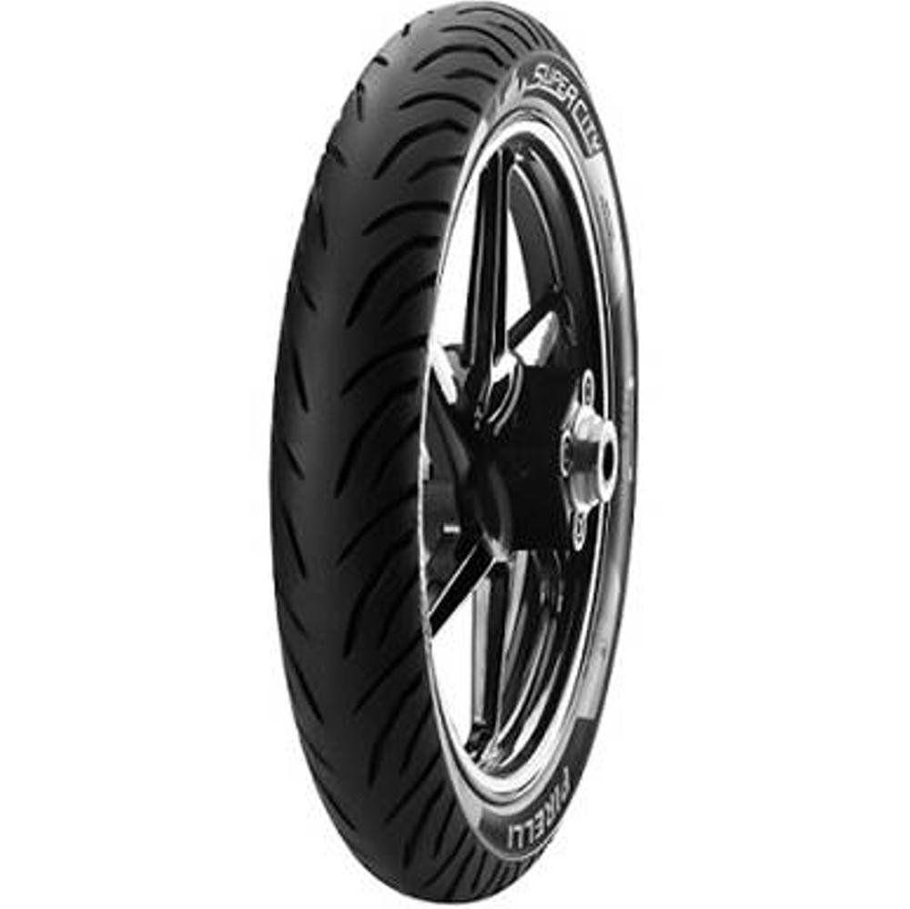 Pneu Cg 160 Gsr 150i 100/80-18 53p Sem Camara Super City Pirelli
