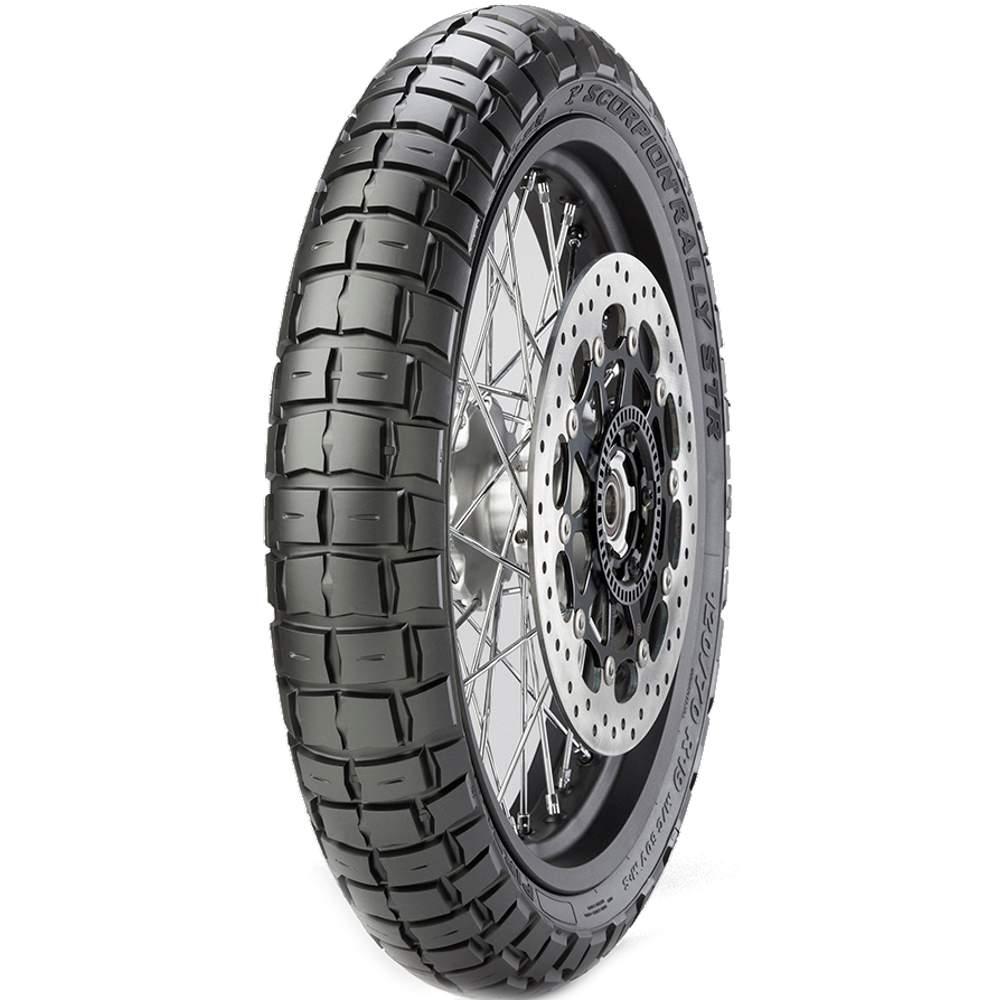 Pneu Triumph Tiger 800 Xr Honda Vrf 1200x 110/80r19 59v Scorpion Rally Str Pirelli