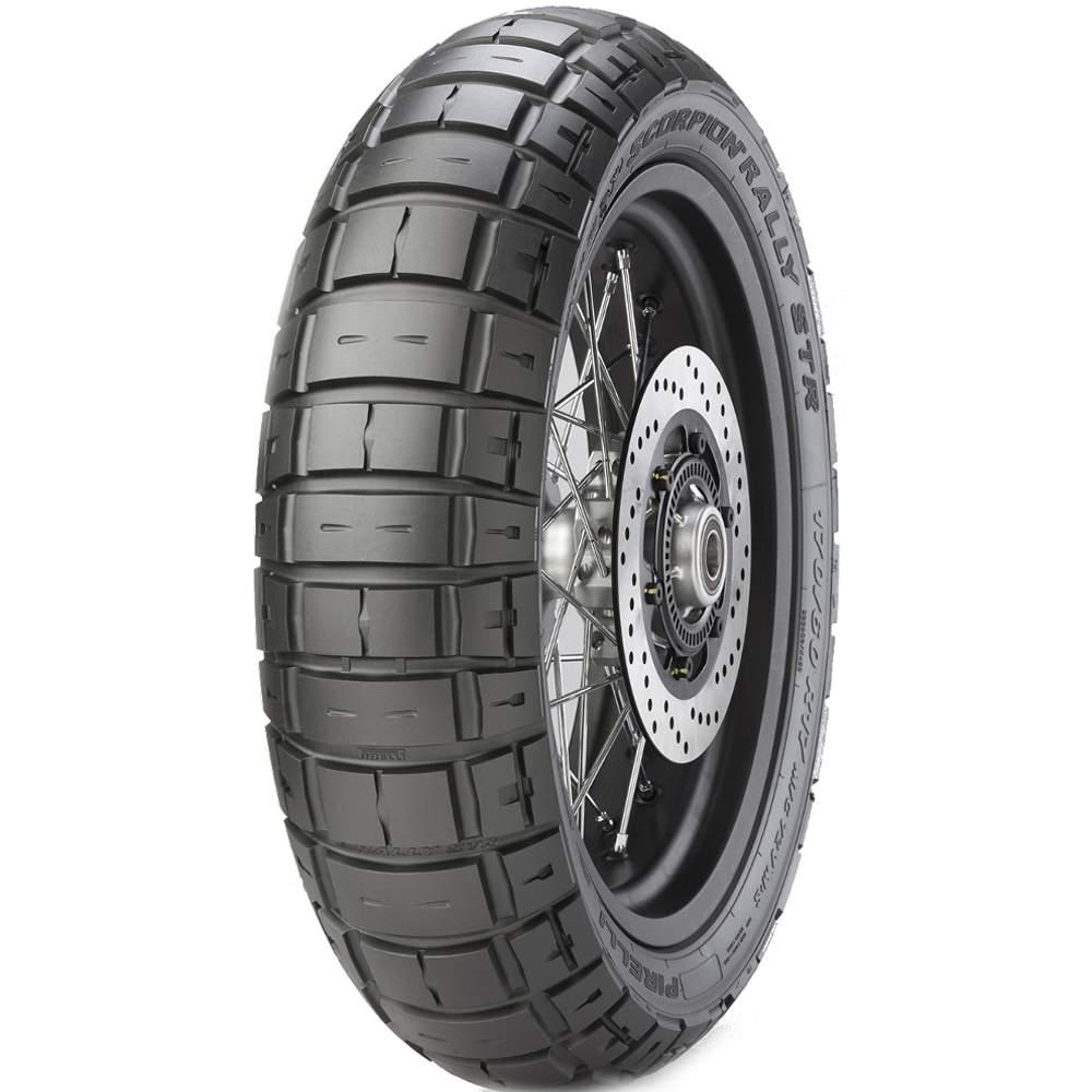 Pneu V-Strom 650 Tiger 800 Xr 150/70r17 69v Tl Scorpion Rally Str Pirelli