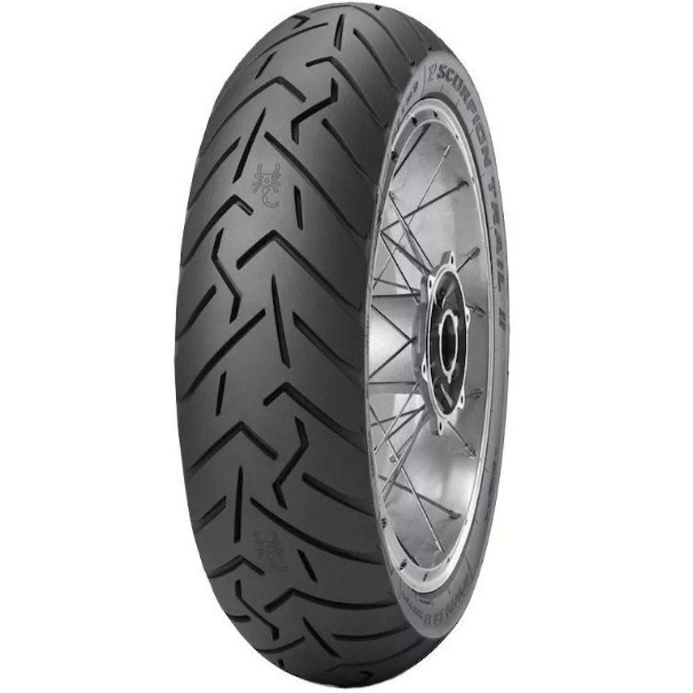 Pneu Nc 750 X  Cb 500 X 160/60r17 Zr 69w Tl Scorpion Trail 2 Pirelli