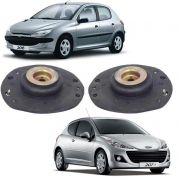 kIt Coxim Amortecedor Dianteiro Peugeot 206 207 1998 12014