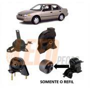 Coxim Traseiro Dianteiro Motor Corolla 1993/1997 Automatico
