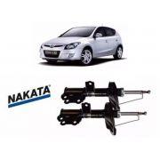 Kit Par Amortecedor Dianteiro Direito Esquerdo I30 Nakata