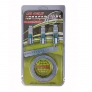 KSC Kit Jogo Completo Abraçadeira Totalmente Aço Carbono Fita  14,5mm