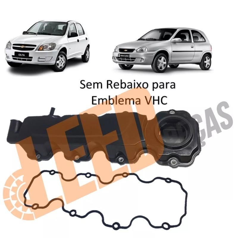 Tampa Comando Valvula Corsa 1999 2000 2001 2002 8V MPFI VHC Celta 2001 2002 2003 2004 2005 2006 8V VHC Plastico