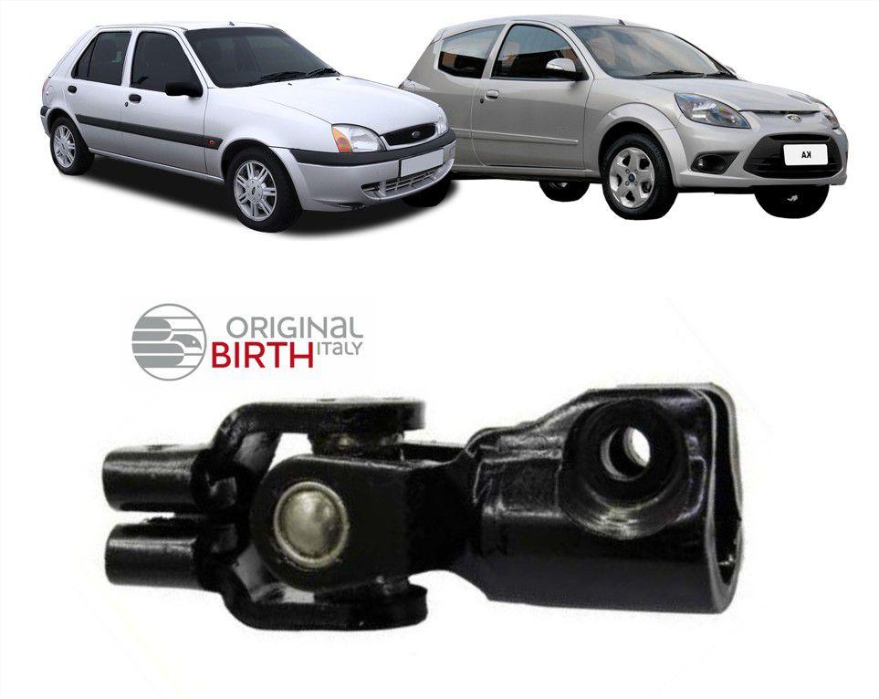 Articulador Direção Ford Fiesta Ka 1996 1997 1998 1999 2000 2001 2002 2003 2004 Direção Mecânica