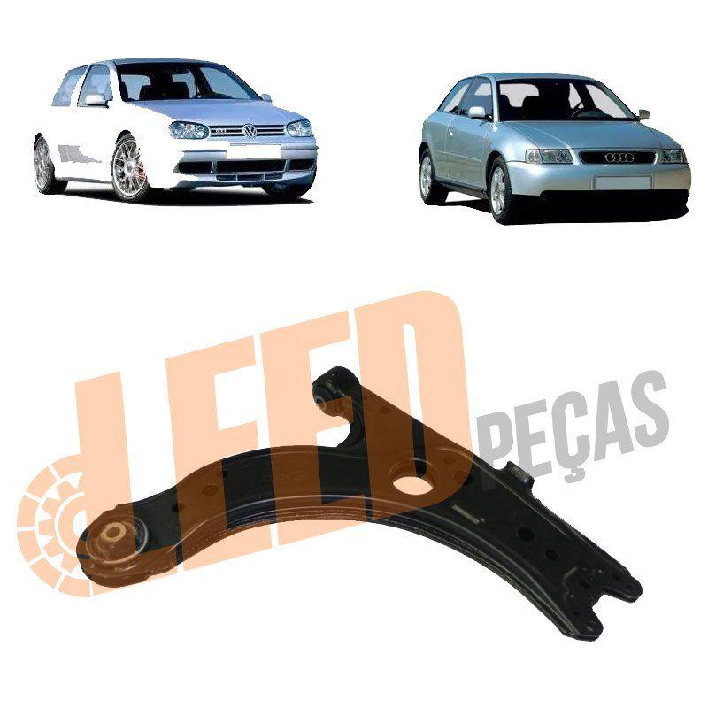 Bandeja Dianteira Direita Esquerda Golf Audi A3 New Beetle