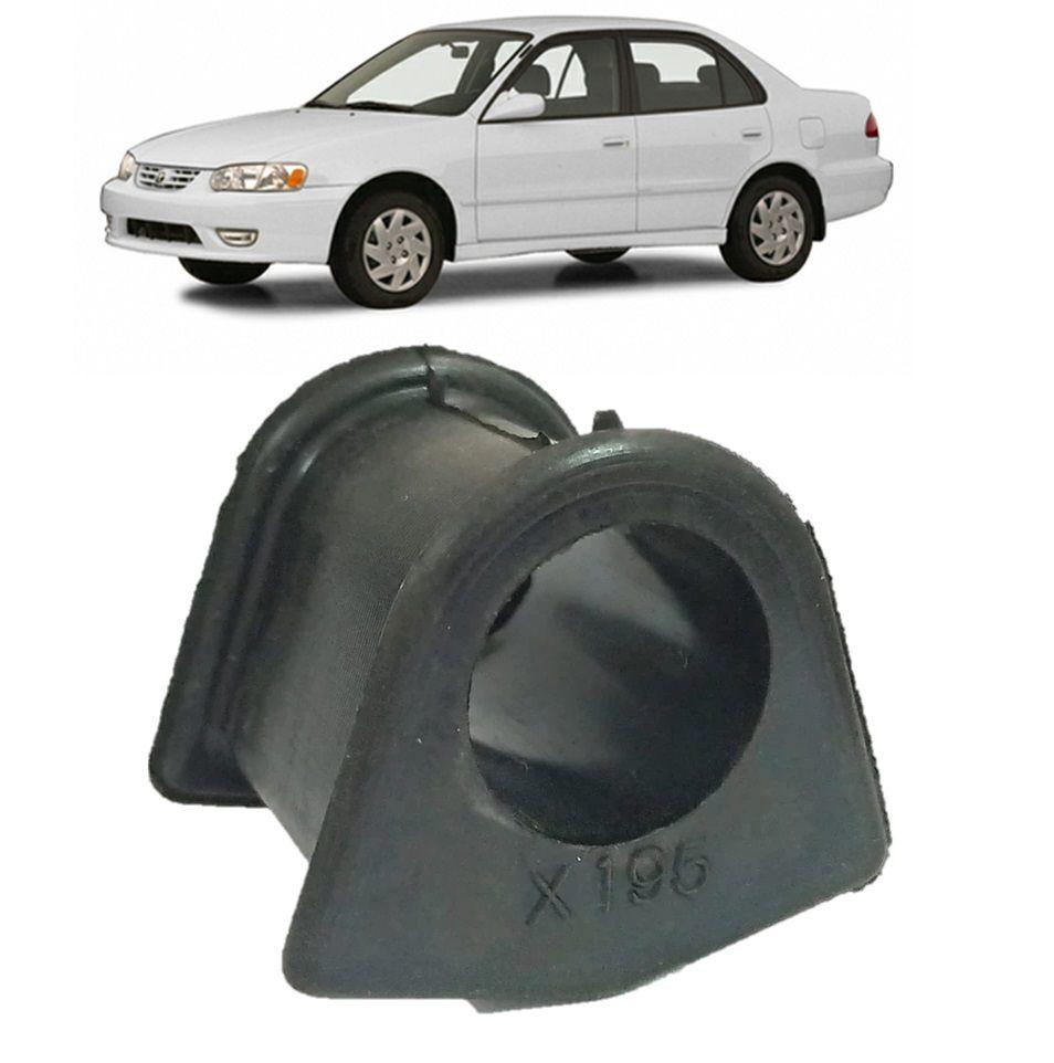 Bucha Barra Estabilizadora Dianteira Corolla 1998 1999 2000 2001 2002 (19,5mm)