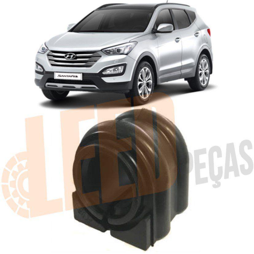 Bucha Barra Estabilizadora Dianteira Hyundai Santa Fé 2012 2013 2014 2015 2016 2017 2018 2019 Ø24mm