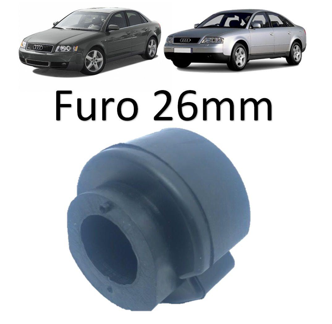Bucha Estabilizadora Dianteira Audi A4  1995 1996 1997 1998 1999 2000 A6 1997 1998 1999 2000  2001 2002 A8 1995/...Q5 2009/...Ø26Mm