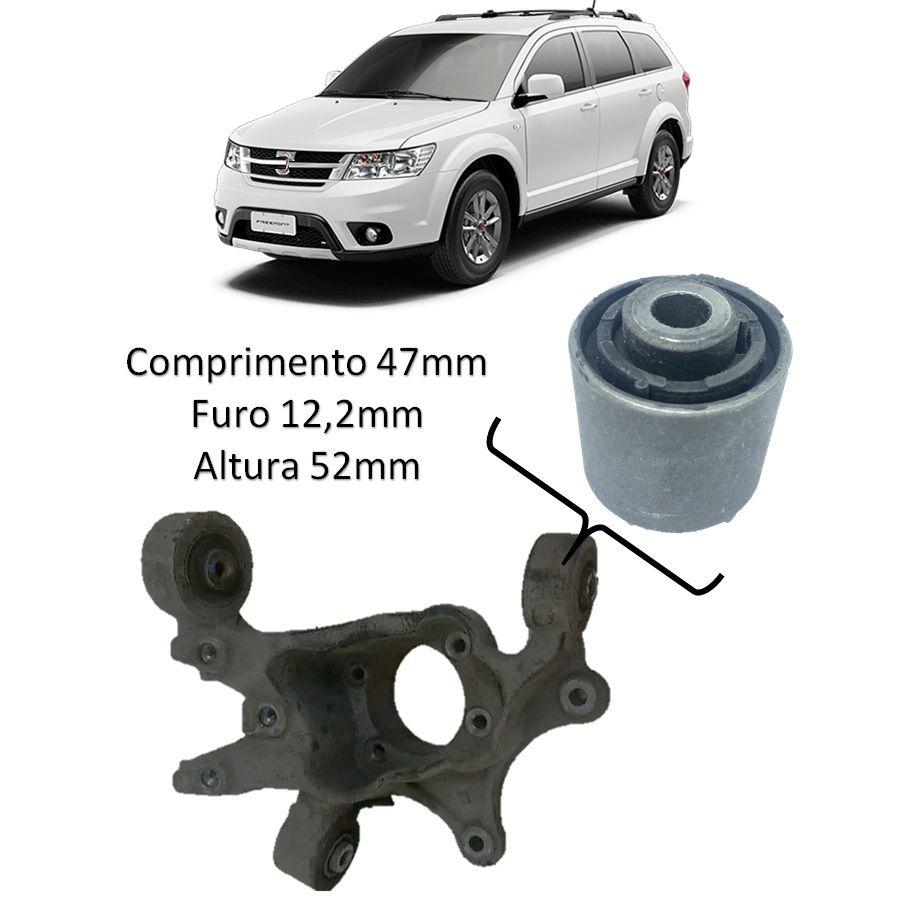 Bucha Menor Manga Eixo Traseiro Fiat Freemont 2011 2012 2013 2014 2015 2016