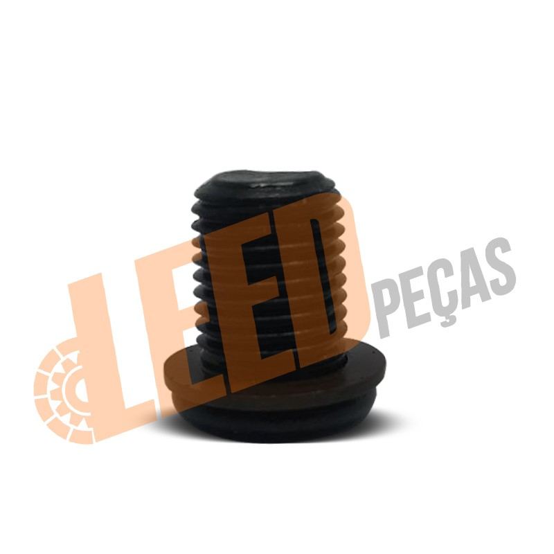 BUJAO CARTER AUDI/FOX/JETTA/GOLF C/ANEL VEDADOR DE COBRE FIXA MOTOR AT