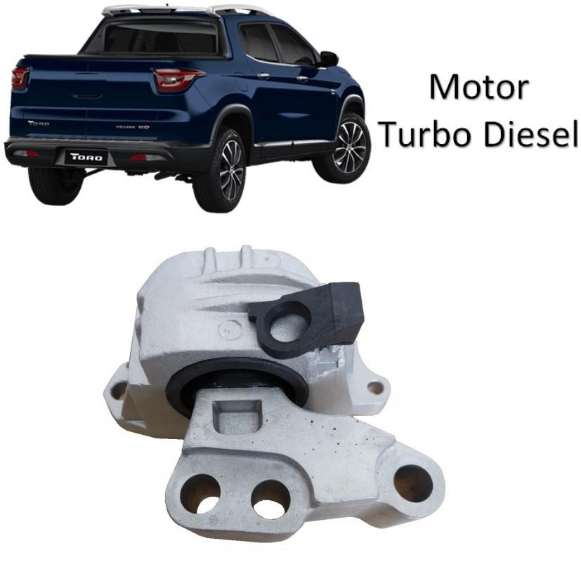 Calço Coxim Dianteiro Direito Motor Toro 2.0 Renegade 2.0 4x4 Turbo Diesel 2018 2019