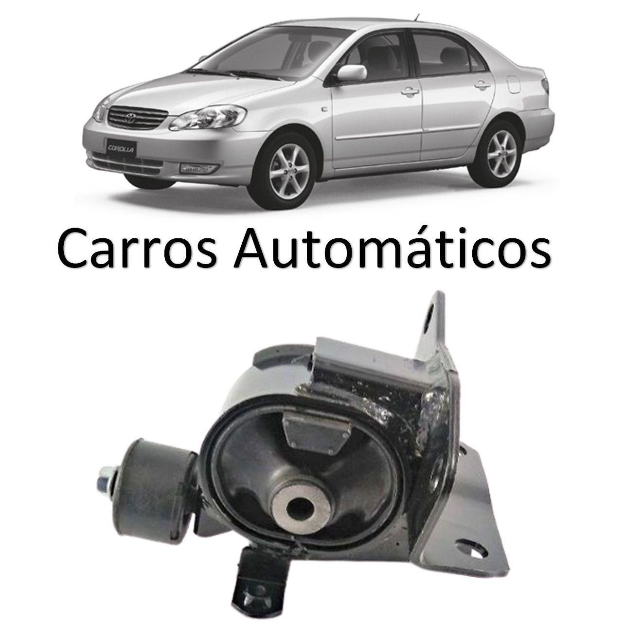 Calço Coxim Dianteiro Esquerdo Motor Corolla Fielder Automatico 2002 2003 2004 2005 2006 2007 2008
