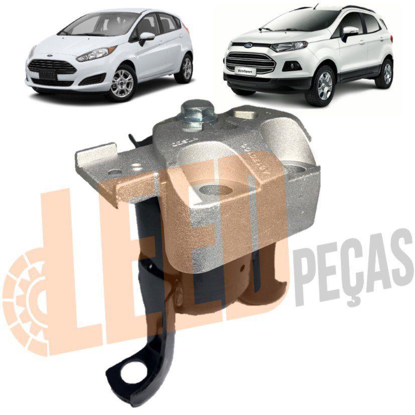 Calço Coxim Direito Motor Ecosport New Fiesta Duratec 2011 2012 2013 2014 2015 2016 2017 Hidráulico Com Suporte