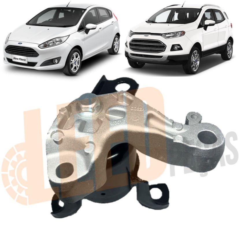 Calço Coxim Direito Motor Ecosport New Fiesta Sigma 2011 2012 2013 2014 2015 2016 2017 Hidráulico Com suporte