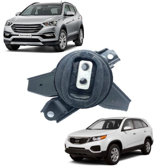 Calço Coxim Esquerdo Câmbio Hyundai Santa Fe 2013 2014 2015 2016 2017 2018 Sorento 2014 2016 2015