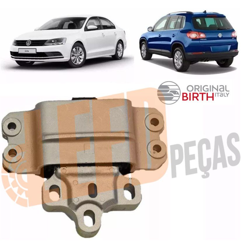 Calço Coxim Motor Esquerdo Audi A3 Fusca Tiguan Passat Rsq3 Automático Original Birth