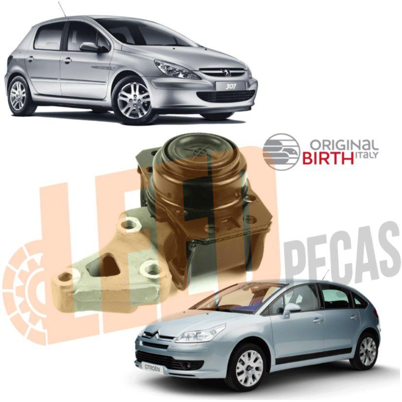 Calço Coxim Motor Superior Direito Peugeot 307 Citroen C4 C4 Picasso 2.0 2004 2005 2006 2007 2008 2009 2010 2011 2012 2013