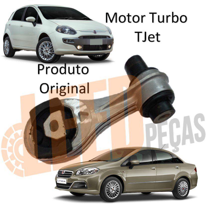 Calço Coxim Restritor Torque Câmbio Punto 1.4 Turbo Tjet 2011 2012 2013 2014 2015 2016 Linea 1.4 Turbo Tjet 2009 2010 2011 2012 Biela