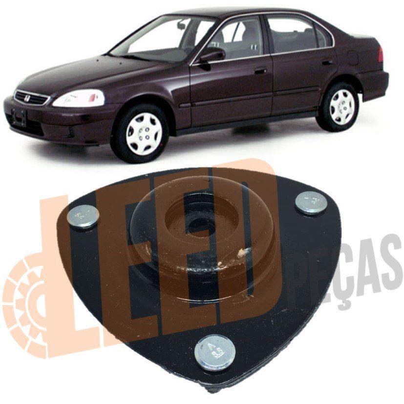 Coxim Amortecedor DIanteiro Honda Civic 1992 1993 1994 1995 1996 1997 1998 1999 2000 2001
