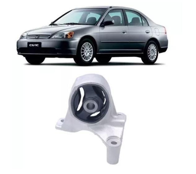 Coxim Dianteiro Frontal Civic 2001 2002 2003 2004 2005 2006 Cambio Manual 3 Furos
