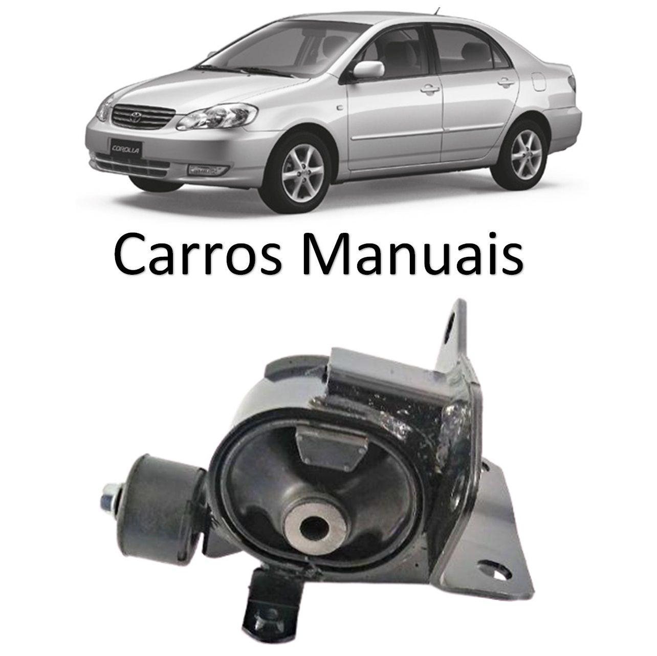 Coxim Dianteiro Motor Esquerdo Corolla 2002 2003 2004 2005 2006 2007 2008 Manual