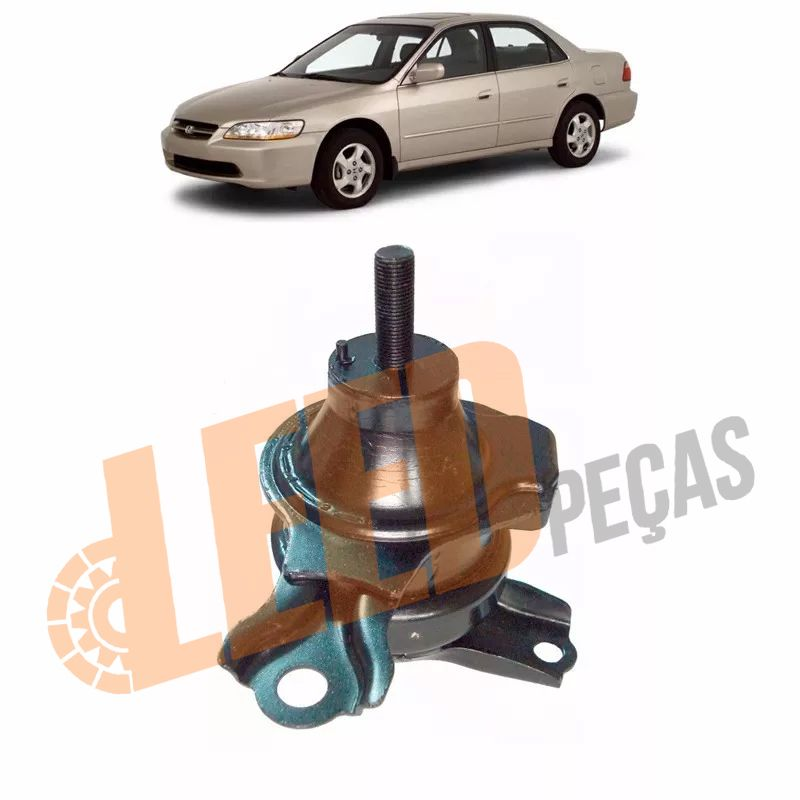 Coxim Motor Dianteiro Esquerdo Automatico Accord 2.0 2.3 1998 1999 2000 2001 2002
