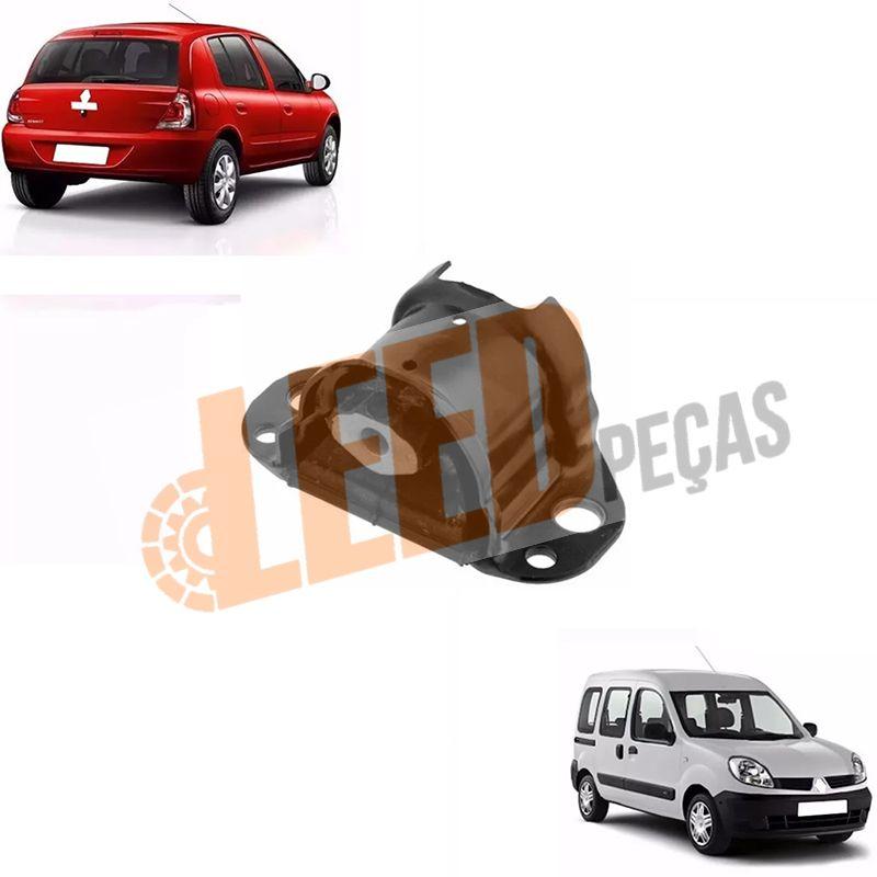 Coxim Direito Motor Clio II 1998 1999 2000 2001 2002 2003 2004 Kangoo 1.0 1998 1999 2000 2001 2002 2003 2004