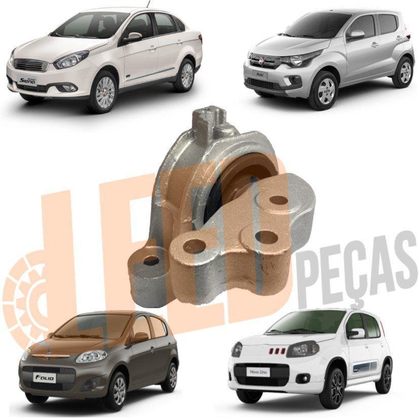 Coxim Motor Direito Palio Grand Siena 1.4 2012 2013 2014 2015 2016 2017 Uno 1.4  2011 2012 2013 2014 2015 2016 2017 Mobi 2016 2017