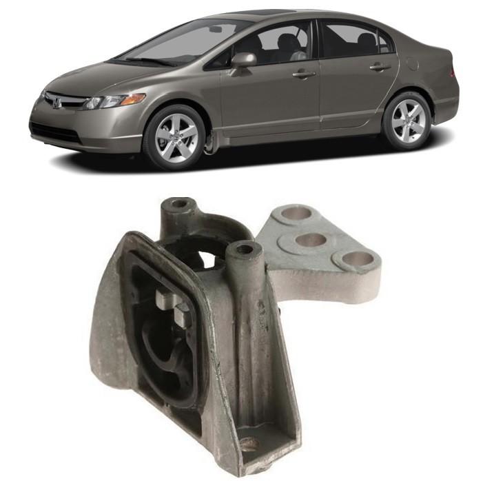 Coxim Motor Esquerdo Automatico New Civic 2007 2008 2009 2010 2011