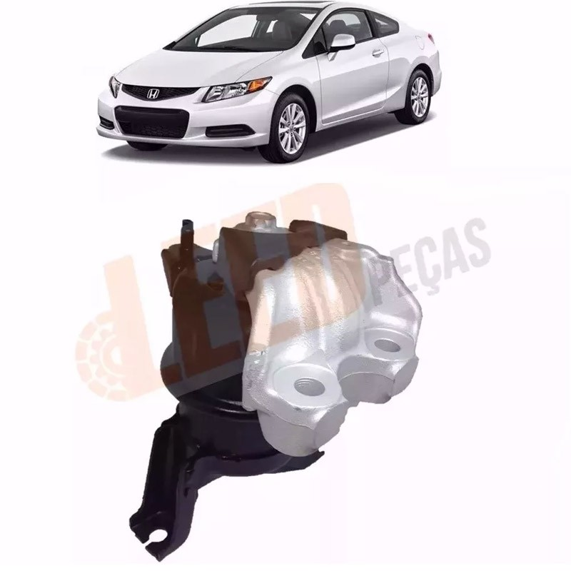 Calço Coxim Direito Motor Civic 2012 2013 2014 2015 2016 Original
