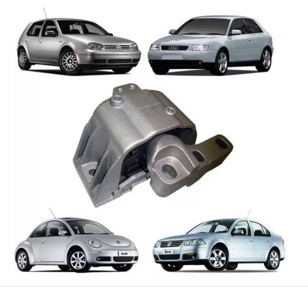 Coxim Calço Motor Direito Audi A3 Golf Bora New Bettle 1996 1997 1998 1999 2000 2001 2002