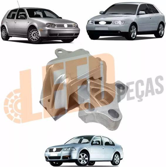 Coxim Motor Esquerdo A3 Golf IV Bora 1997 1998 1999 2000 2001 2002 2003 2004 Tiptronic