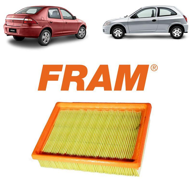 Filtro Ar Motor Celta 2000 2001 2002 2003 2004 2005 2006 Prisma 2006 2007 2008 2009 2010 2011 2012 2013 2014 2015 2016