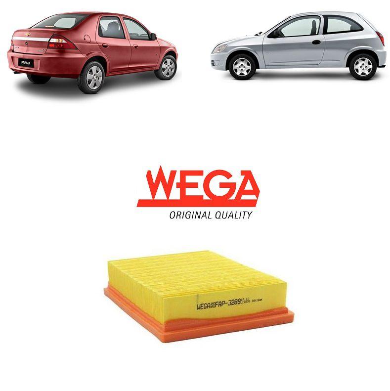 Filtro Ar Motor Celta Prisma 2003 2004 2005 2006 2007 2008 2009 2010