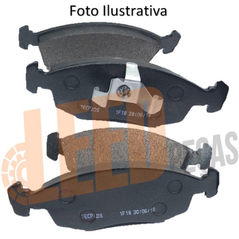 Jogo Kit Pastilha de Freio Dianteira Palio Fire 1.0 1.3 2001 2002 2003 2004 2005 2006 2007 2008 2009 Siena 1.0 1999 2000 2001