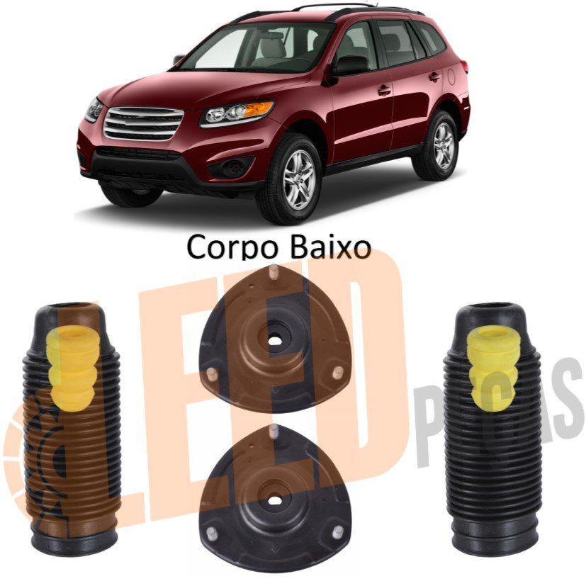 Kit Batente Coxim Amortecedor Dianteiro Hyundai Santa Fé 3.5 V6 2010 2011 2012 2013