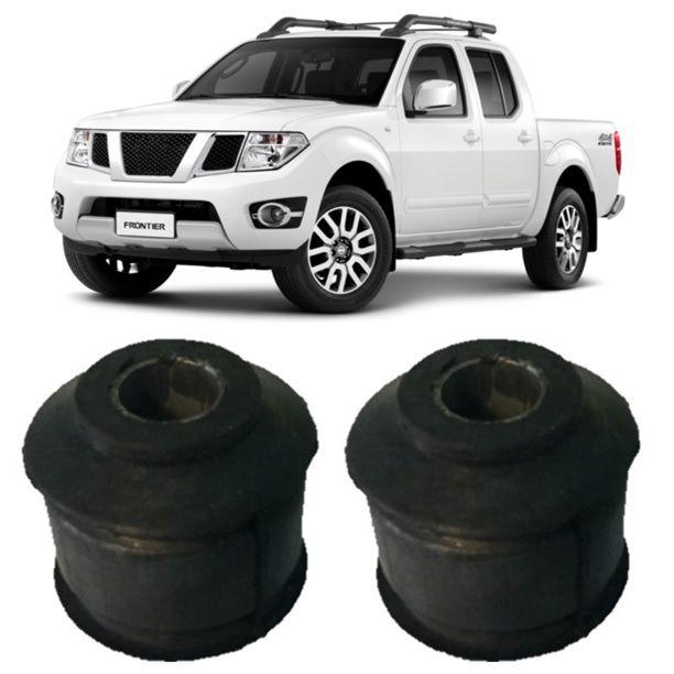 Kit Bucha Amortecedor Dianteiro Inferior Nissan Frontier Sel 2008 2009 2010 2011 2012 2013 2014 2015