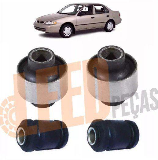 Kit Bucha Bandeja Dianteira Corolla 1997 1998 1999 2001 2002