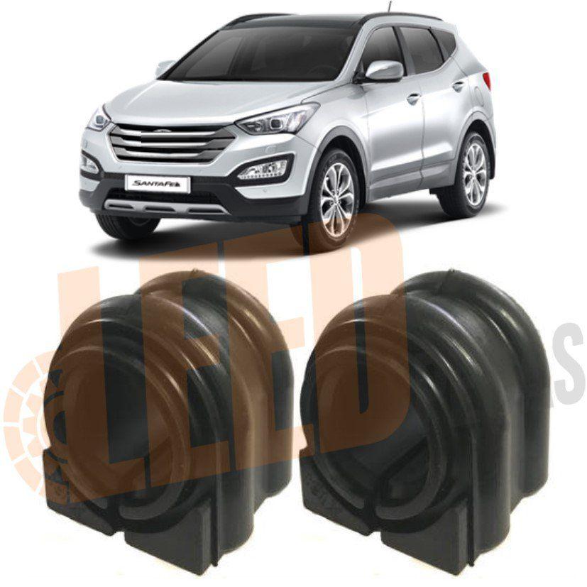 Kit Bucha Barra Estabilizadora Dianteira Hyundai Santa Fé 2012 2013 2014 2015 2016 2017 2018 2019 Ø24mm