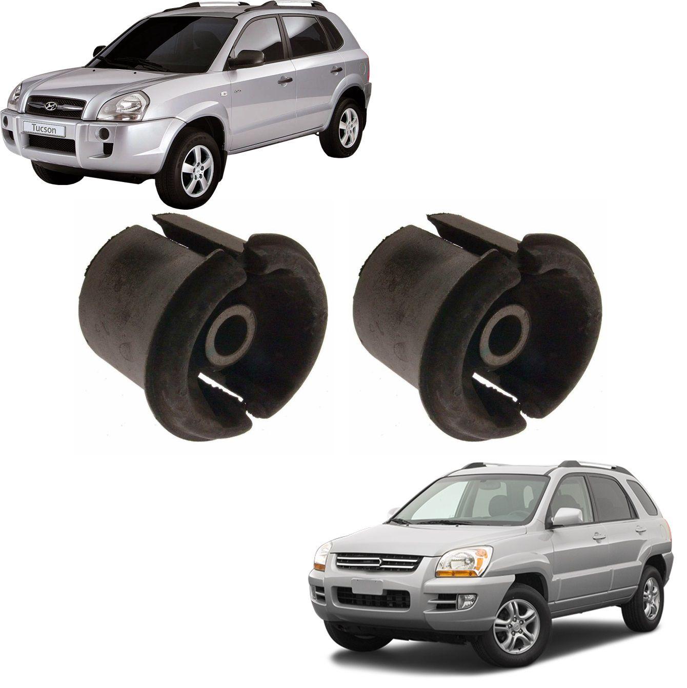Kit Bucha Dianteira Quadro Traseiro Tucson 4WD 2005 2006 2007 2008 2009 2010 2011 2012 2013 2014 2015 2016 2017