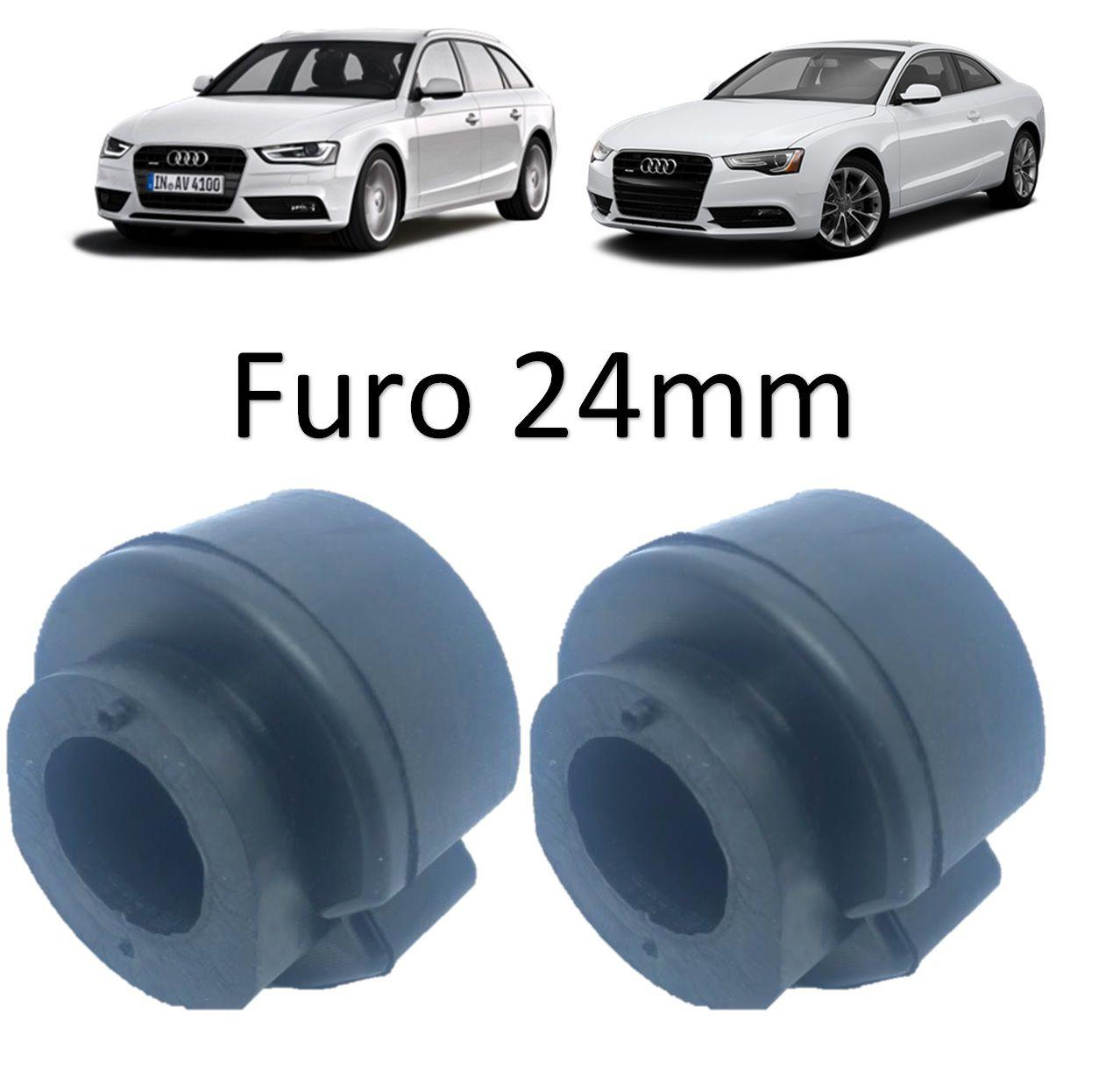 Kit Bucha Estabilizadora Dianteira Audi A4/A/ A6 1998/...Passat 97/...Audi A4/A5 2014/...A5/A6 2010/2018
