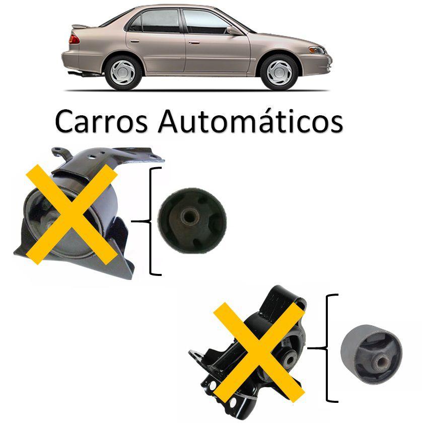 Kit Bucha Refil Coxim Motor Corolla 1998 1999 2000 2001 2002