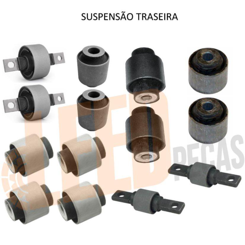 Kit Buchas Suspensão Dianteira Traseira Civic 1992 - 1995
