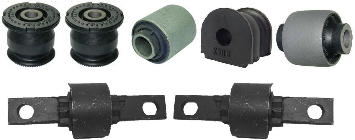 Kit Buchas Suspensão Traseira Civic 2001 2002 2003 2004 2005 (Com bucha do braço 42mm)