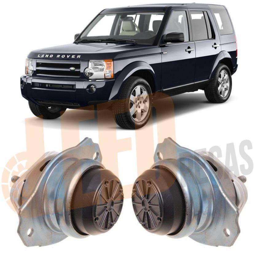 Kit Calço Coxim Direito Esquerdo Motor Land Rover Discovery 3 2005 2006 2007 2008 2009